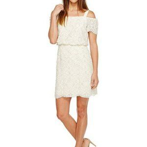 NWT Adrianna Papell Ella lace off shoulder dress
